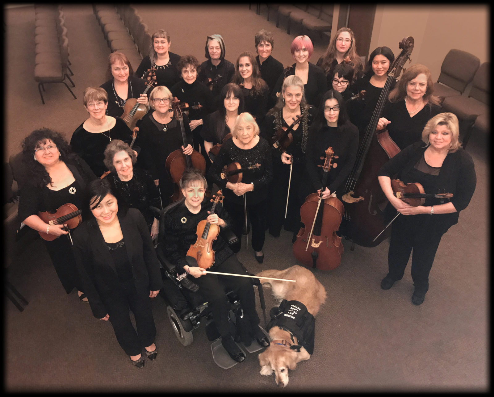 Image of WOA Women's Orchestra of Arizona musicians.