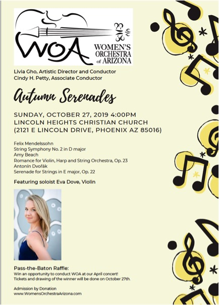 Autumn Serenades Concert